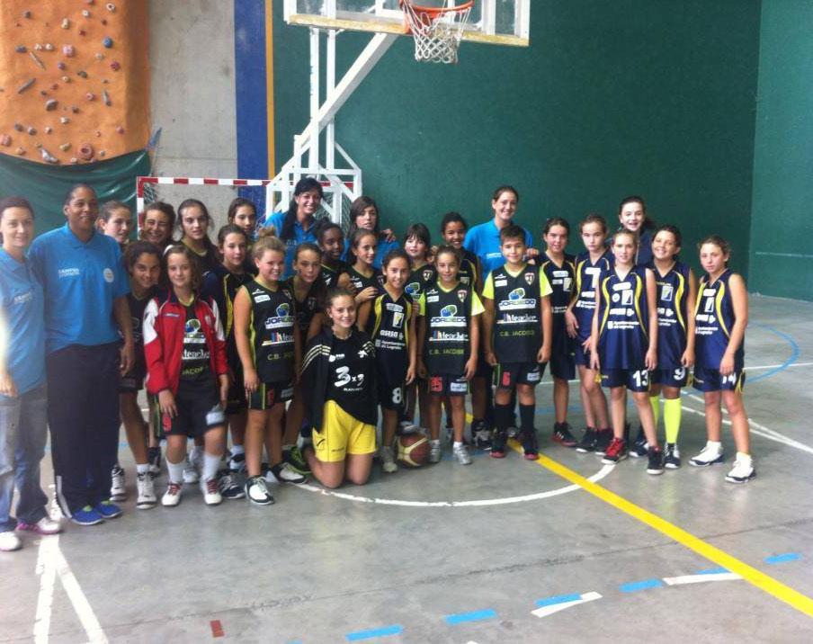 Jornada de convivencia y baloncesto en Alberite