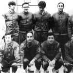 Víctor Rubio en el equipo Lanas Esmeralda (tercero por la izquierda en la fila superior)