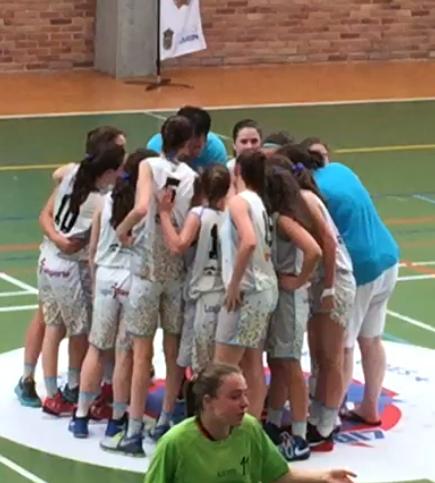 El Campus Promete Infantil A se despide del Campeonato de España después de tres jornadas de gran baloncesto