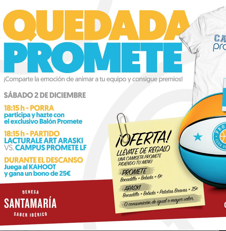 El sábado, primera Quedada Promete para ver al Campus Promete LF1 en la Dehesa de Santa María Cascajos