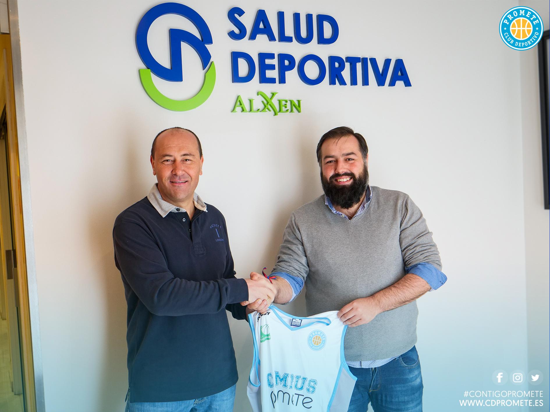 La Unidad de Salud Deportiva de la Clínica Alxen y Club Deportivo Promete unen sus caminos en la búsqueda de la excelencia deportiva