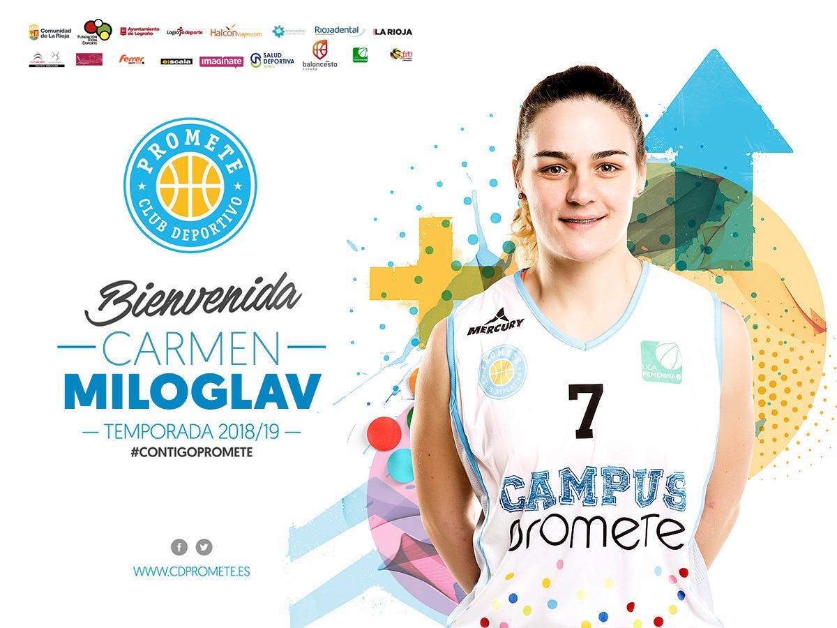 Carmen Miloglav, talento balcánico para Campus Promete