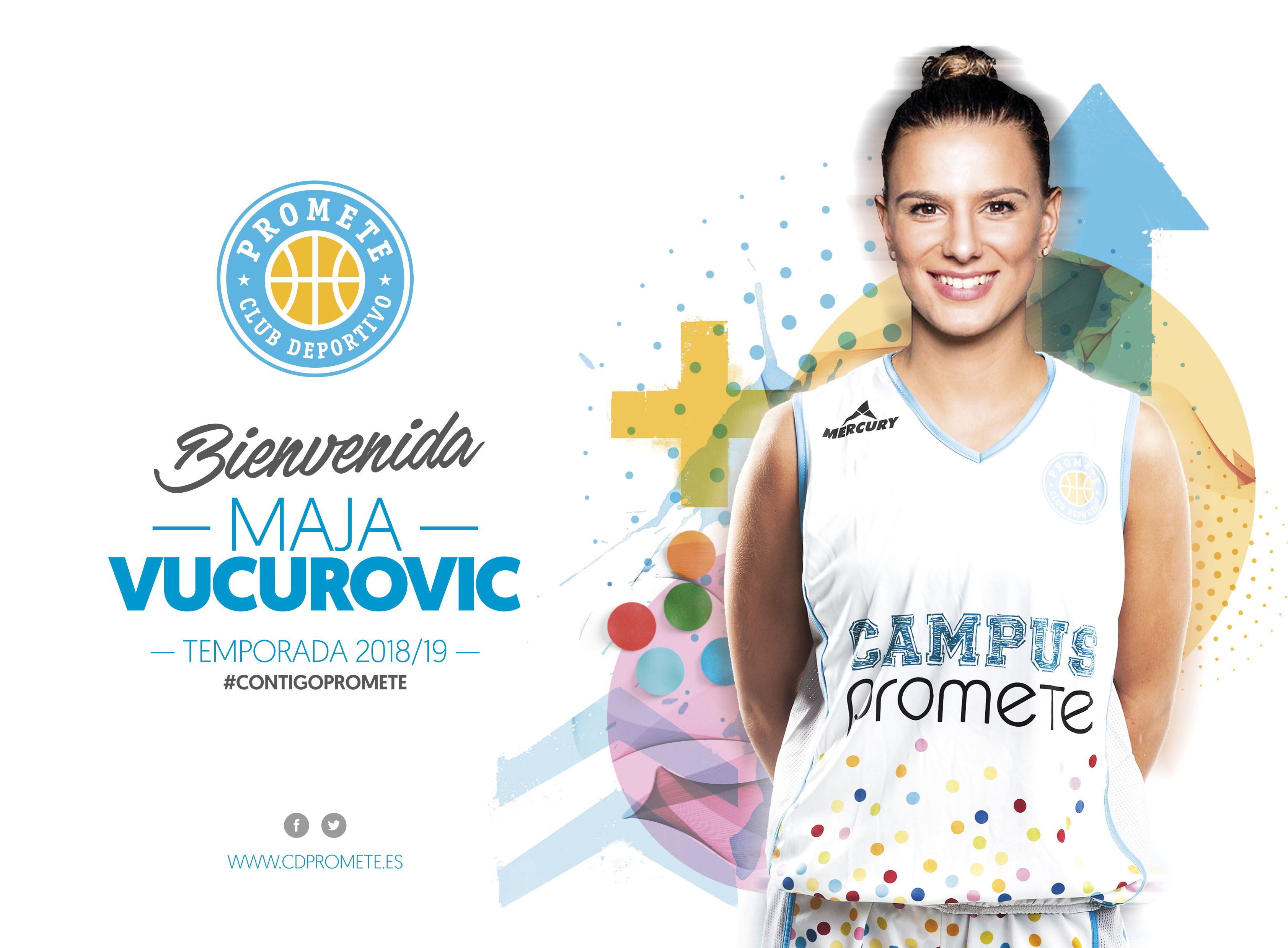 Maja Vucurovic completa el puzzle del Campus Promete