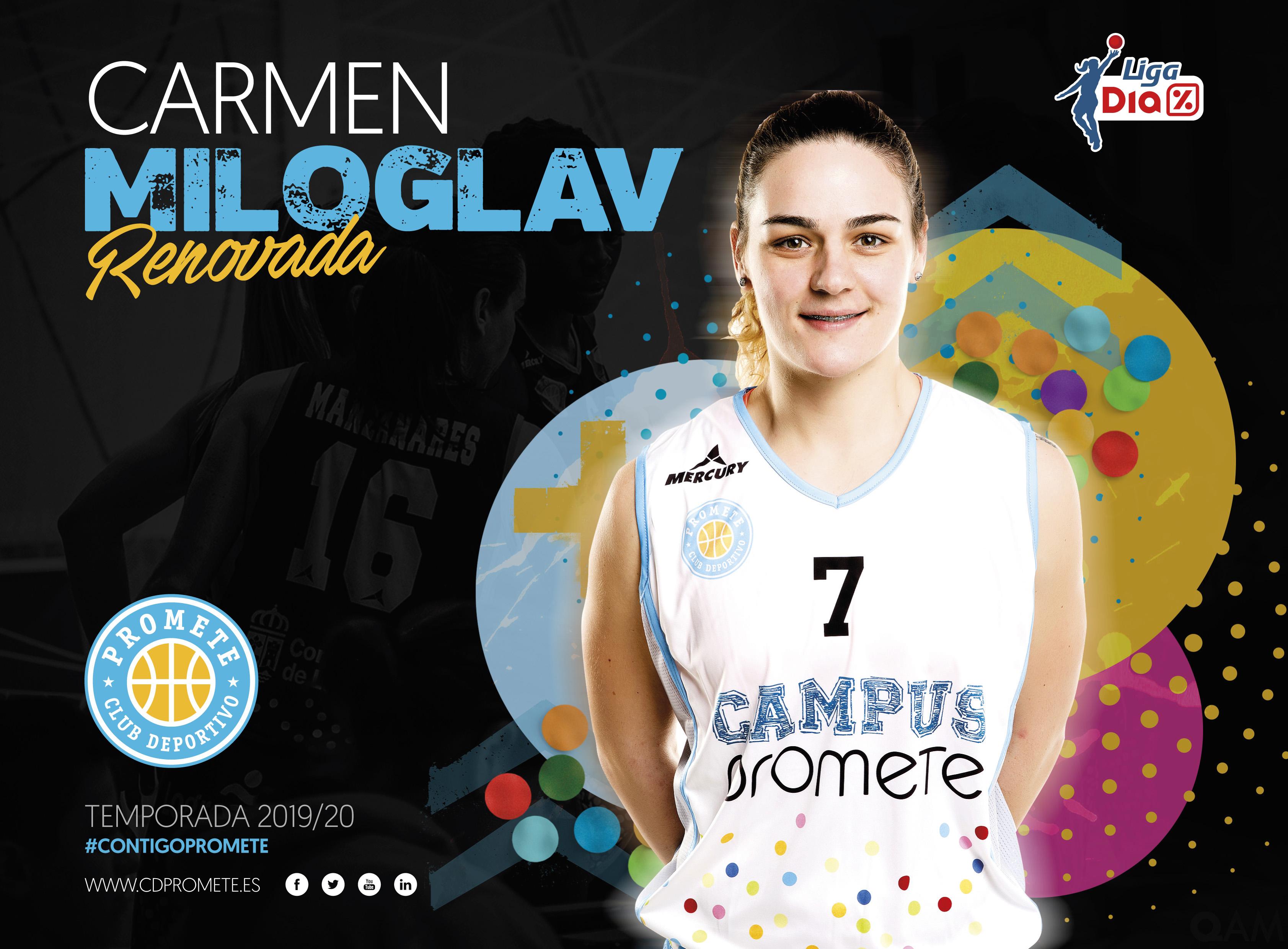 Carmen Miloglav, quinta renovación del Campus Promete