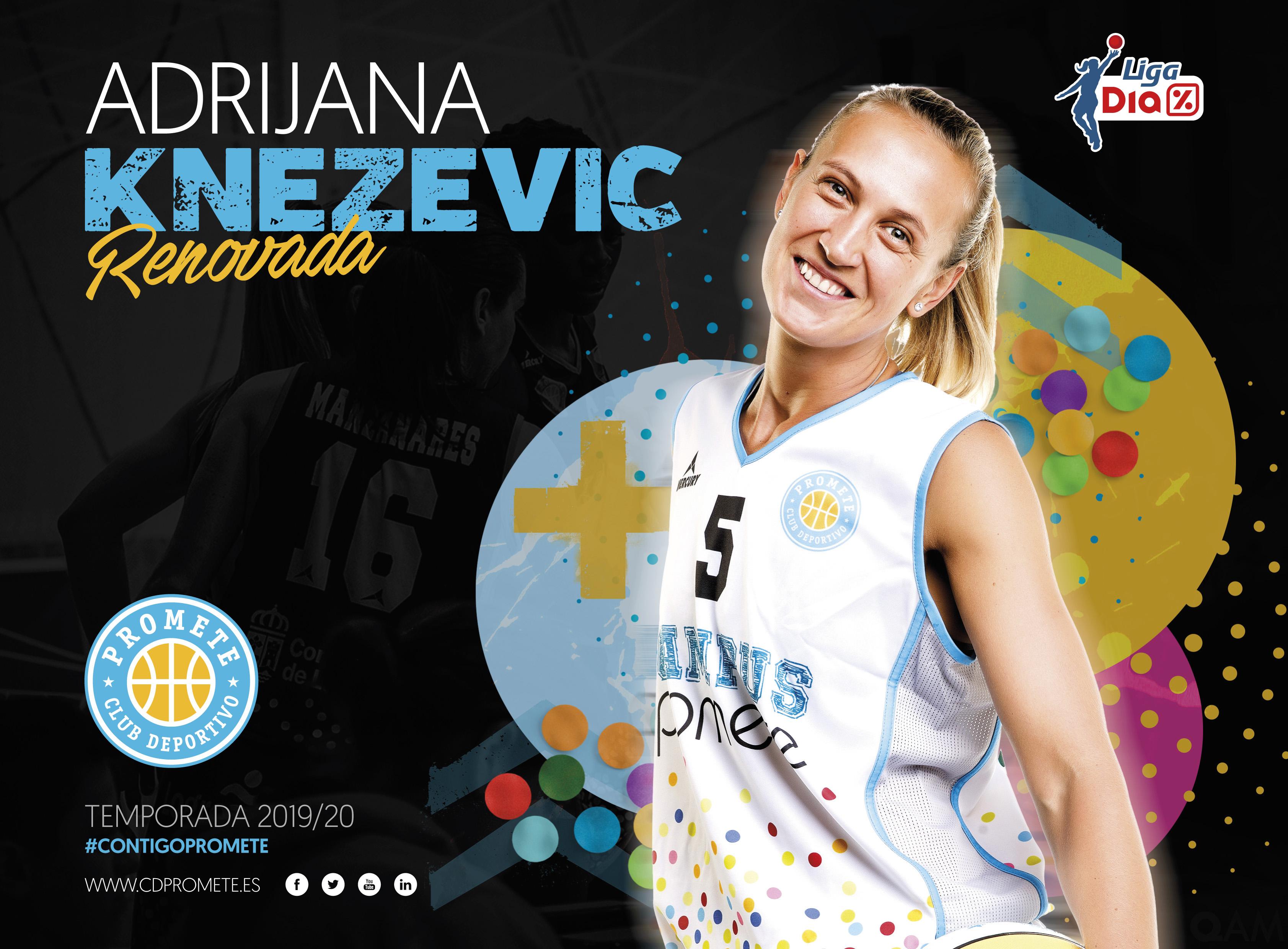 Adrijana Knezevic también regresa a Liga DIA con el Campus Promete