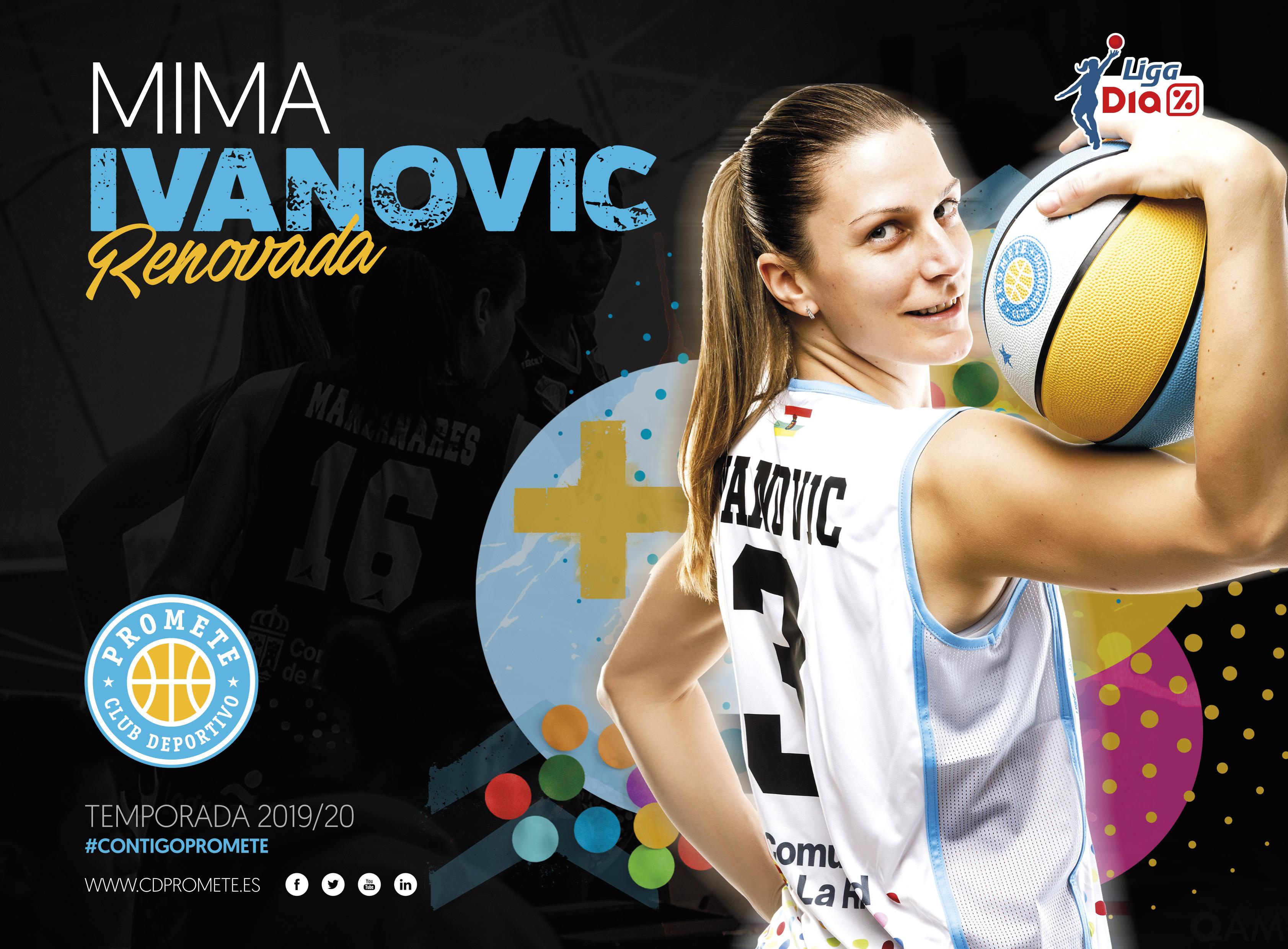 Mima Ivanovic seguirá anotando para el Campus Promete en Liga DIA