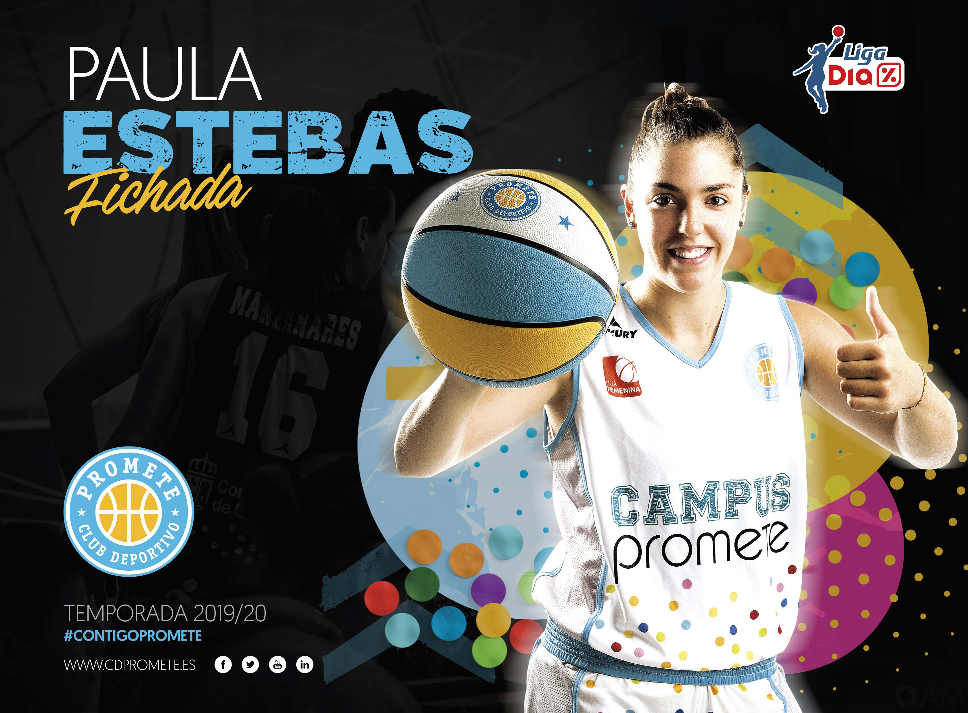 La riojana Paula Estebas regresa al Campus Promete para el reto de Liga DIA