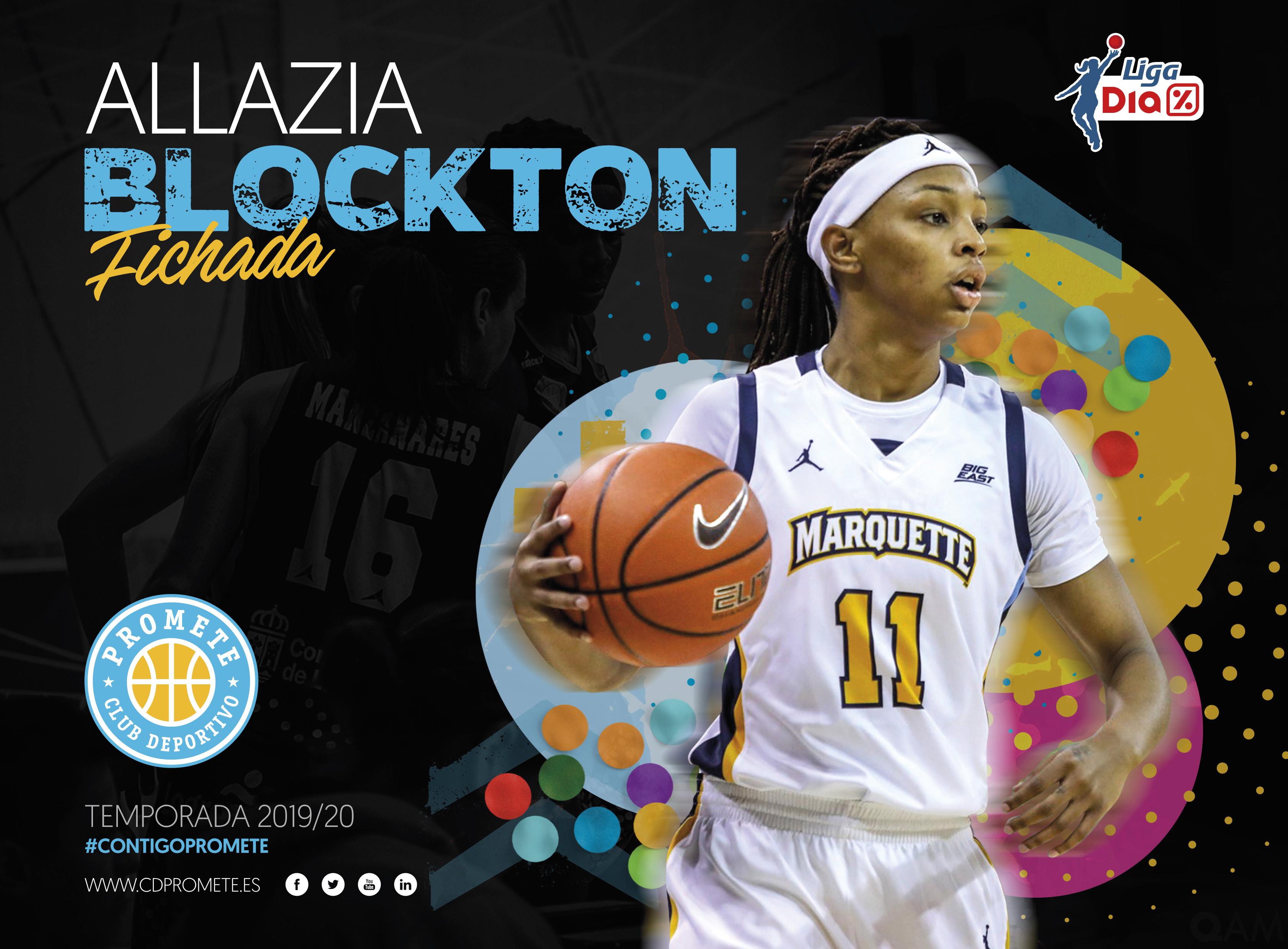 El Campus Promete completa su perímetro con Allazia Blockton, referente en la NCAA