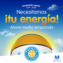 ¡Necesitamos tu energía!