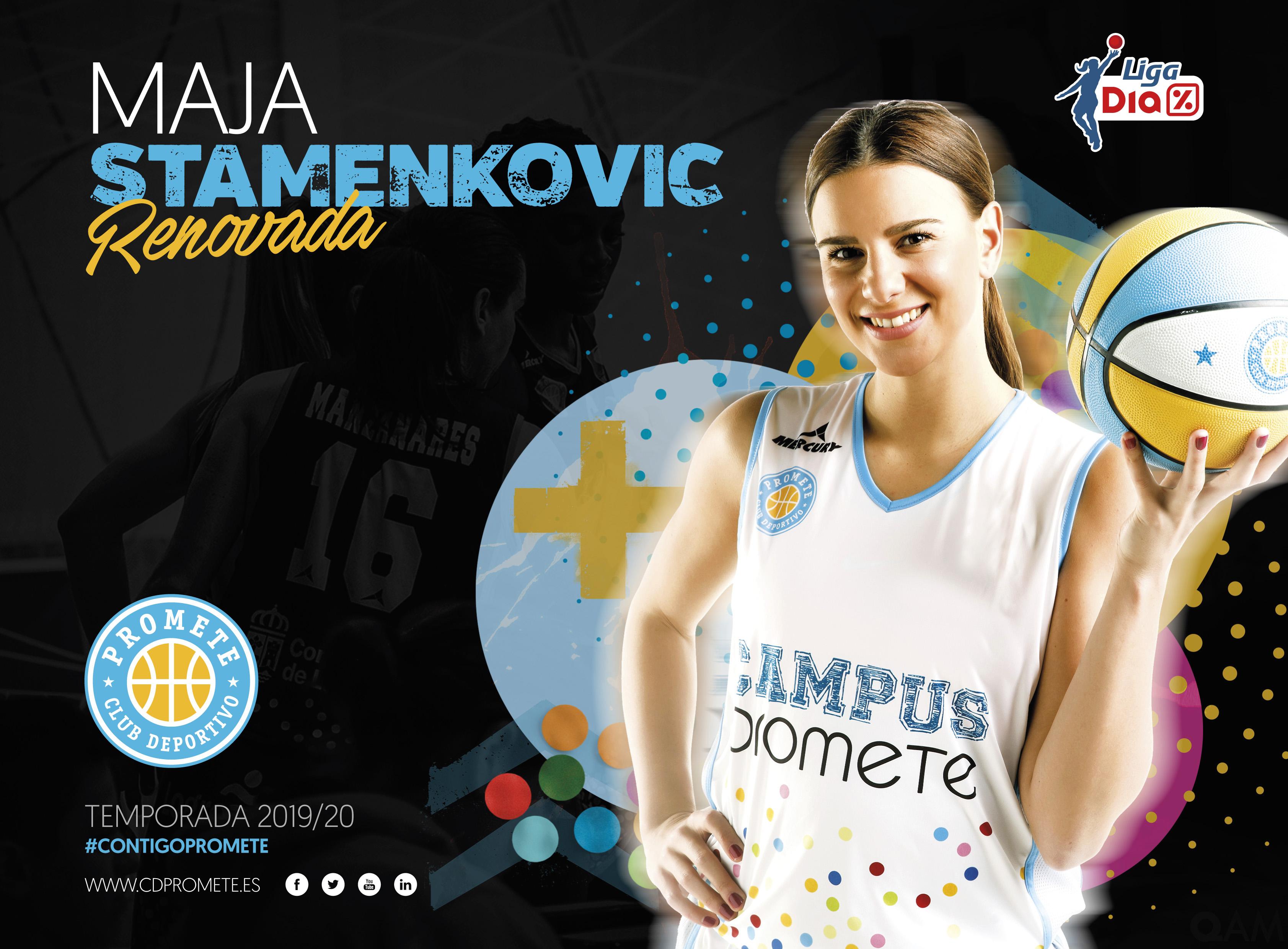 Maja Stamenkovic, sexta renovación del Campus Promete para Liga DIA