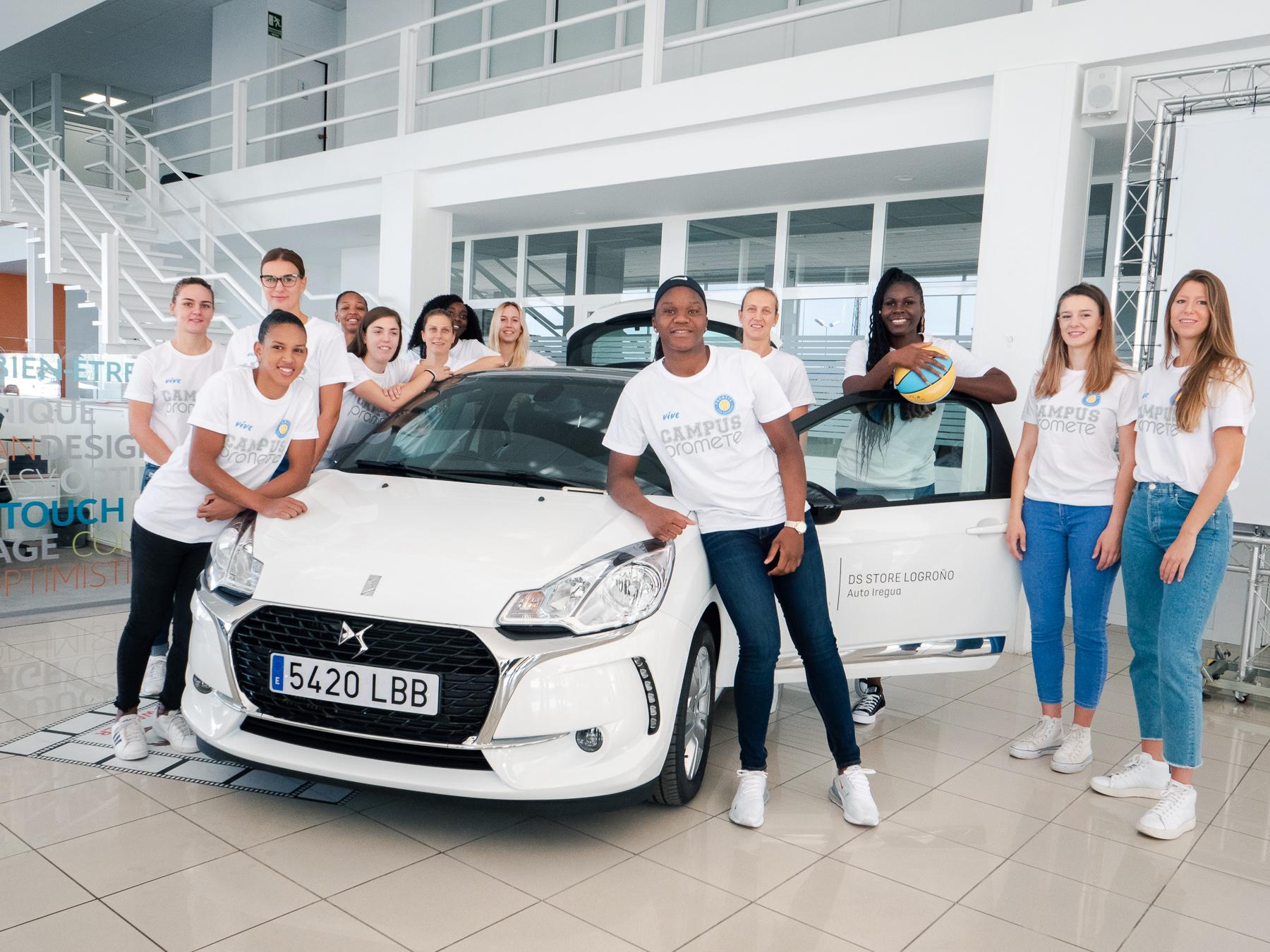Seis años con Auto Iregua: el Campus Promete conducirá el Citroën DS3 esta temporada