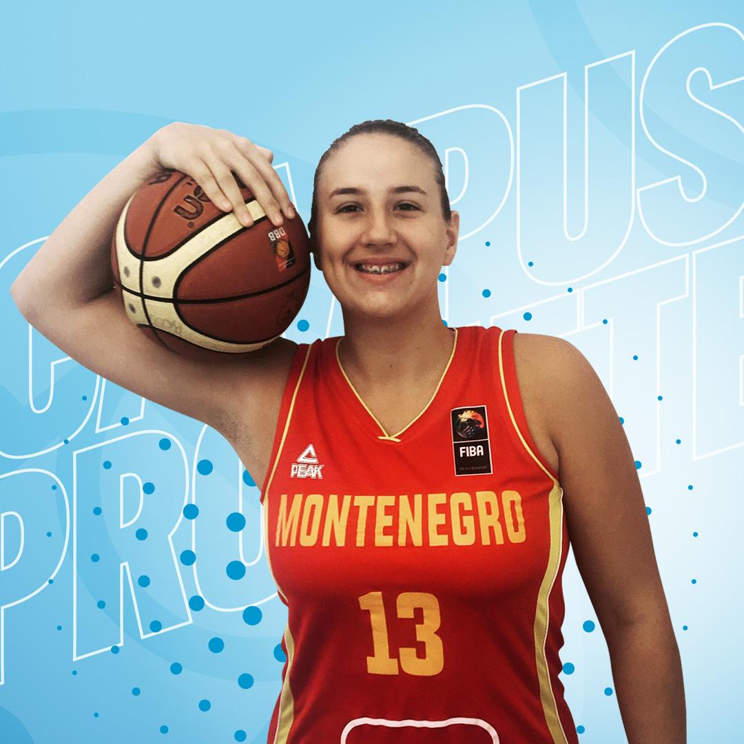 Bojana Kovacevic, refuerzo de lujo para el juego interior de Campus Promete