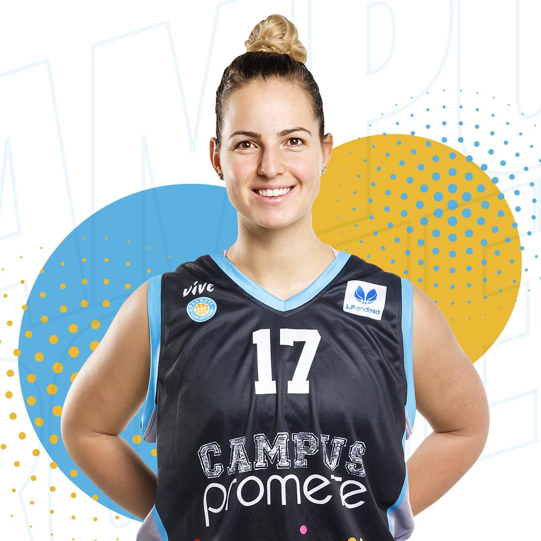 Jovana Nogic seguirá vistiendo la camiseta del Campus Promete un año más