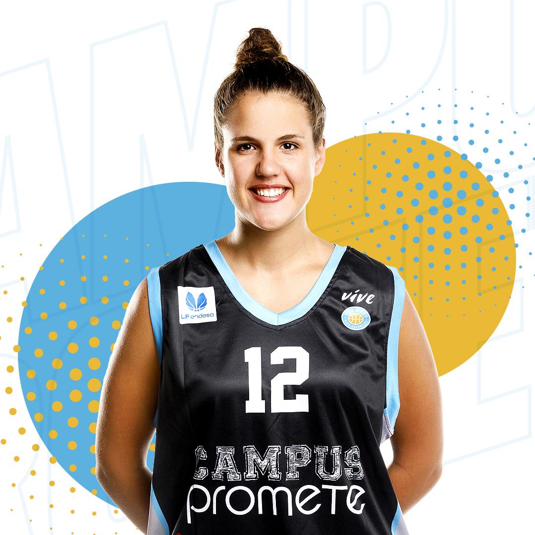 Txell Alarcón continuará desarrollando su talento en el Campus Promete